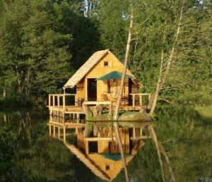 plan cabane en bois