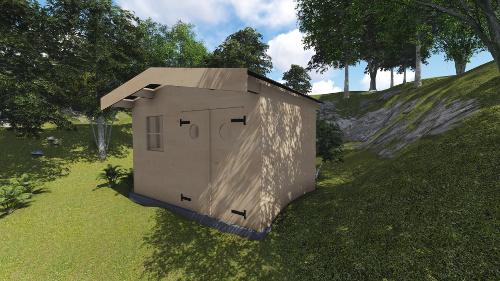 plan construction cabane