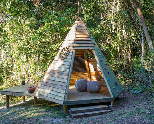 comment faire un tipi en bois. Black Bedroom Furniture Sets. Home Design Ideas