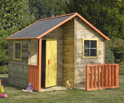 Bien-aimé Plan cabane enfant-15 cabanes à construire soi-même! IE99