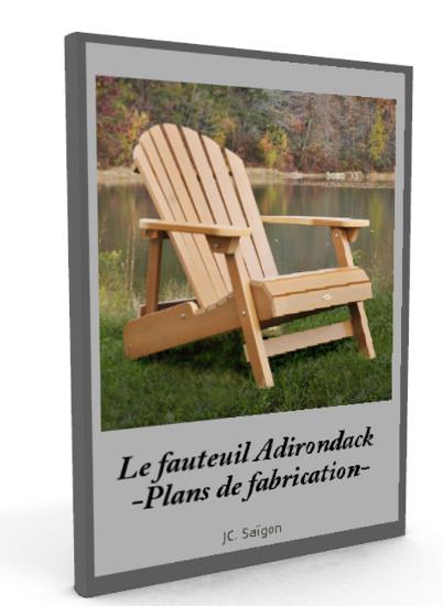 Livre fauteuil adirondack