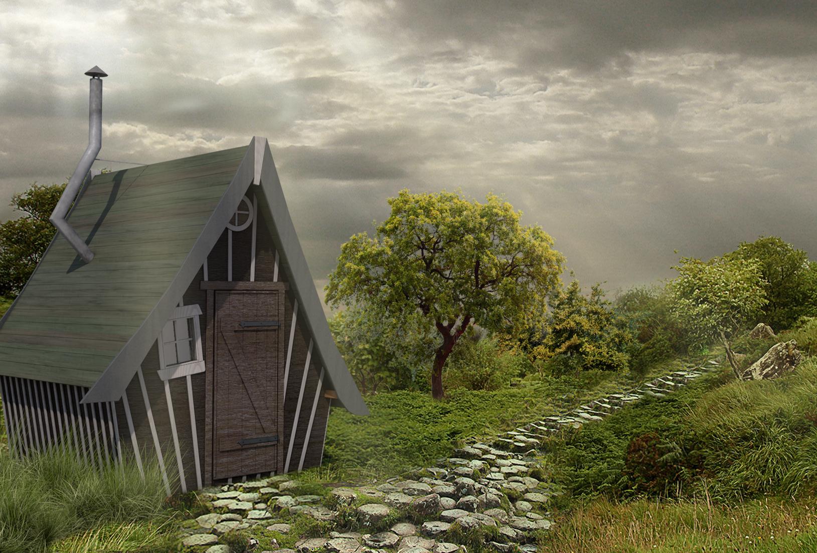 Fabriquer Une Cabane En Bois Sur Pilotis : Une Cabane En Bois Sur Pilotis 1 Comment Construire Une Cabane En B