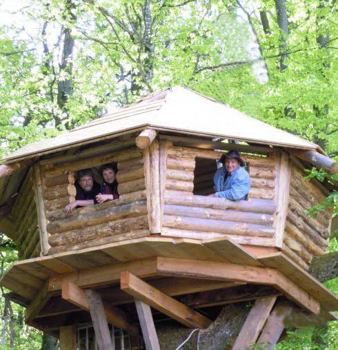 plan cabane dans les arbres des mod les construire soi m me. Black Bedroom Furniture Sets. Home Design Ideas