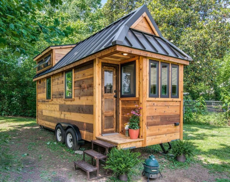 plan tiny house nos plans de tiny house pour une construction facile. Black Bedroom Furniture Sets. Home Design Ideas