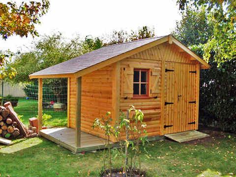plan d'abri de jardin en bois