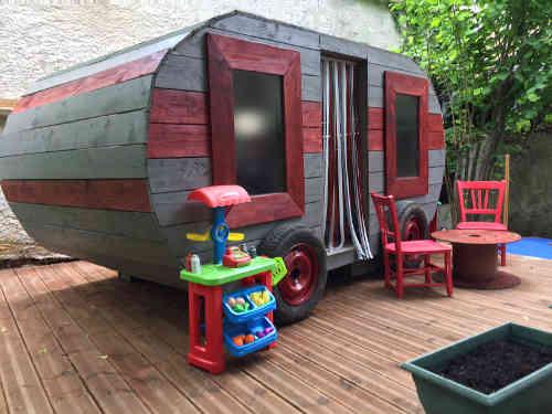 cabane enfant caravane