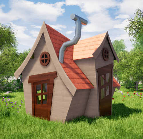 plan cabane enfant originale disney