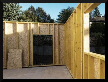 schéma mur ossature bois