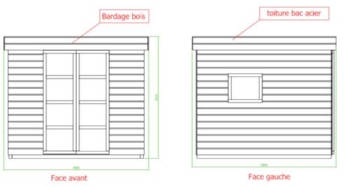 Plan façades DP4
