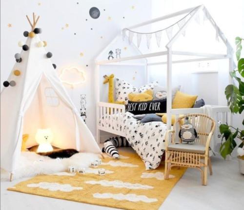 construire lit cabane