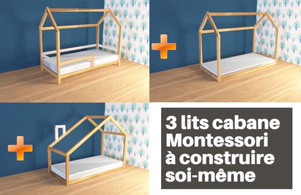 plan lit cabane montessori