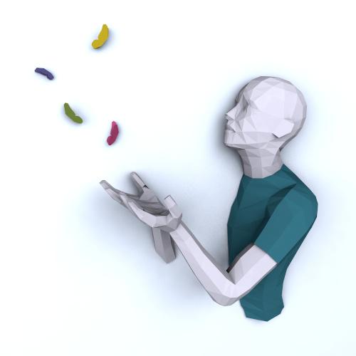 papercraft origami 3d