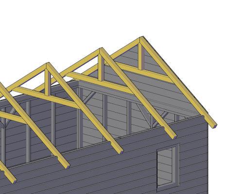 comment faire le toit d'un abri de jardin