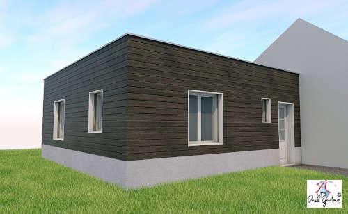 agrandissement maison sur le côté